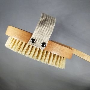 Ecofriendly Sisal Body Brush With Removable Handle
